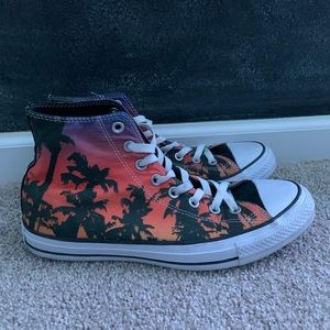 Chuck Taylor limited addition palm tree high tops